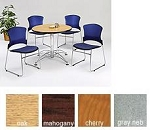 Ofm Round Office Table Lt36rd 36 Inch Multi-Purpose Laminate Top Table