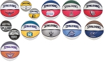 NBA Team Basketball - Spalding Rubber Basketball Balls