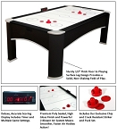 Carmelli NG1038 Premium Table 7.5' Air Powered Hockey Game Table