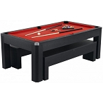 Park Avenue NG2530PR 7-Foot Billiard Table with Benches and Top