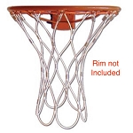 Permanet Basketball Net Steel Basketball Rim Hoop Replacement Part