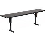 Correll Folding Seminar Table - SP1860PX 18x60 inch Panel Leg Design