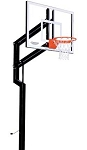 Goalsetter Basketball Hoops Internal Champion 48 in. Glass Backboard