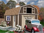Tahoe 12'x16' Best Barns Wood Shed Barn Kit