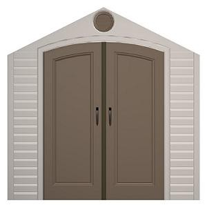 Lifetime Storage Shed - 0140 Doors for 8 Ft. Lifetime Sheds