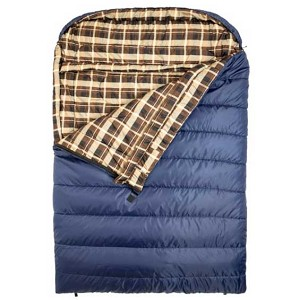 Mammoth +20 F Queen Size Blue Sleeping Bag TETON Sports
