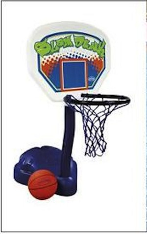 Poolside Basketball 12265 Portable Swimming Pool Basketball System