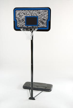"SO Lifetime 1259 Portable Basketball 44"" Impact Basketball Hoop System"