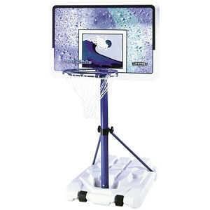 Lifetime Poolside Basketball System 1301 Water Goal 44-in Backboard