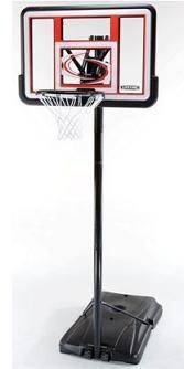 SO Lifetime 1512 Quick Adjust 44 Black Fusion Portable Basketball Goal