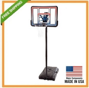 Lifetime Portable Basketball Goal 1533 44 inch Polycarbonate Backboard