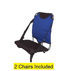 Two Pack of 1669 Travel Chair Stadium Seats