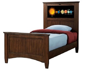 Lifetime 20249 Canterbury Twin (chestnut) LightHeaded Beds *NEW*