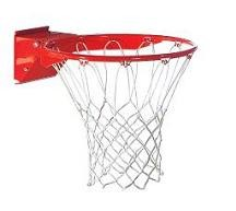 Spalding Basketball Accessories 207SR Pro-Image Red Breakaway Flex Rim