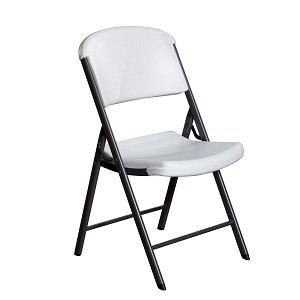 Lifetime Plastic Folding Chairs