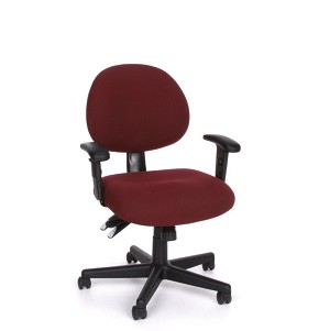 OFM Office Chairs - 241-AA 24-Hour Task Chair with Adjustable Arms