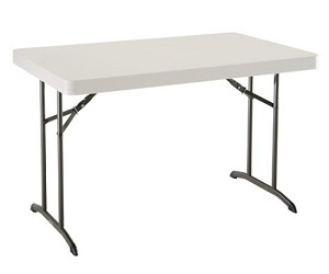 Lifetime Table - 22645 48 in. x 30 in. Outdoor Camp Utility Table