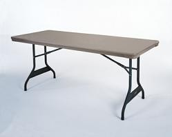 SO 2760 Lifetime Advantage 6 ft Putty Folding Table