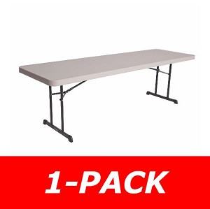 Lifetime Tables - 80127 8 ft. Putty Professional Grade Folding Table