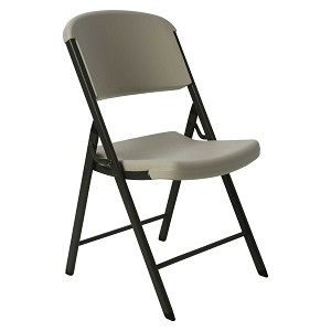Lifetime Commercial Chairs Folding 2803 Almond - 32 Pack