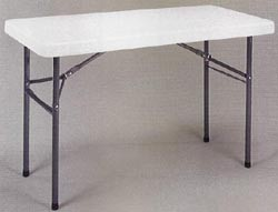 SO 4 PACK Lifetime 2950 4 White Granite Folding Utility Table