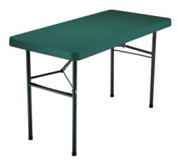 SO 2955 4 PACK Lifetime 4 ft Hunter Green Folding Table