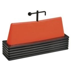 Exercise Equipment - Power Systems VersaStep Hurdle - 6 In. (Set of 6)