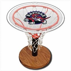 NBA Basketball Acrylic Sports Table with Toronto Raptors Logo