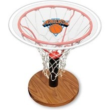 NBA Basketball Acrylic Sports Table with New York Knicks Logo