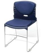 Ofm 320-Vam - 4 Pack Stackable Chairs - Stacking Office Chairs