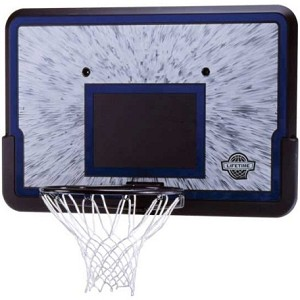 "Lifetime Basketball 44"" Impact Backboard Rim Combo 3241 Polyethylene"