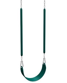 Belt Swing - Big Stuff Play set 411000 Green Swing Matches Earth Tones