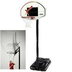 "SO Lifetime 41502 44"" Impact Portable Hoop Goal Basketball System"