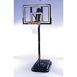 SO Lifetime 41512 Portable XL 48 Shatter Guard Black Basketball Hoop