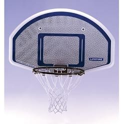 "SO Lifetime 43242 Basketball 44"" New Edge Back Board Rim Combo"