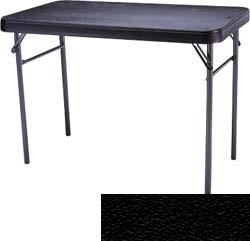 SO 4450 20 PACK VersaLite 4 ft Black Folding Shop Tables