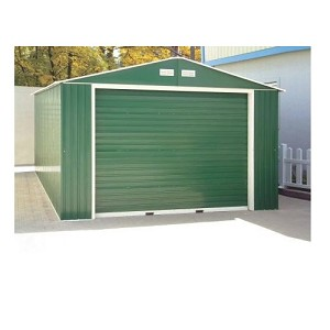 55261 Duramax Imperial Metal Garage Shed - 12x32 Storage Building