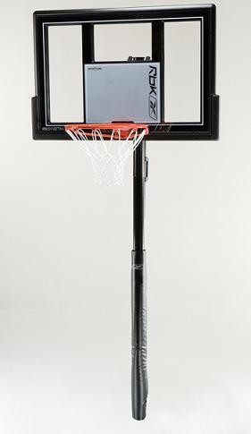 "SO Reebok 51747 In-Ground 48"" Shatter Guard Basketball System"