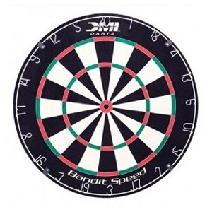 Bandit Staple Free Bristle Dartboard 60001 Game