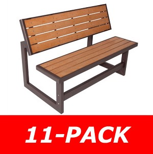 Lifetime Convertible Bench - 860054 Bench Picnic Table - 11 Pack