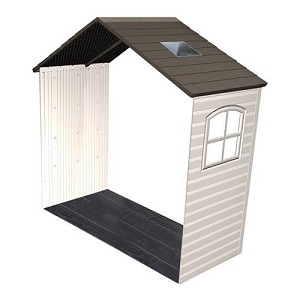 Lifetime Storage Shed Extension Kit 60169 2.5-ft Kit With Skylight