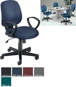 Ofm 602 Teal Low-Back Executive/Conference Adjustable Chair