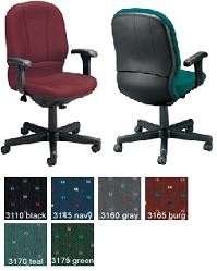 OFM Office Task Chair - 640 Adjustable Posture Office Chair