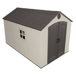 Lifetime Products 6402 8 Ft X 12.5 Ft Outdoor Garden Storage Shed