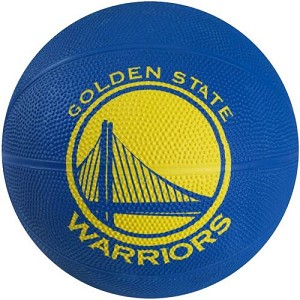 Spalding 65-560E Golden State Warriors Mini Rubber Team Basketball