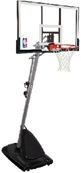 SO Spalding 66321CA 48 Polycarbonate Pro Slam Portable Basketball Goal