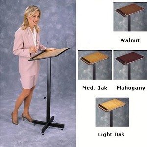 Oklahoma Sound 70 Portable Presentation Adjustable Lectern/Stand