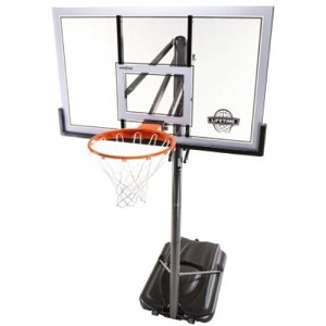 "Lifetime Portable Basketball Hoops System 71522 54"" Acrylic Backboard"