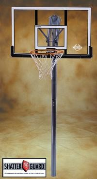 "SO Basketball Goal In Ground 71797 Lifetime 48"" Acrylic Backboard"