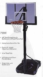 Lifetime Portable Basketball Hoop 72001 Backboard System